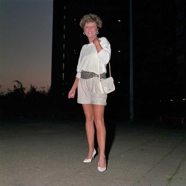 Hyde Park flats Sheffield 1988