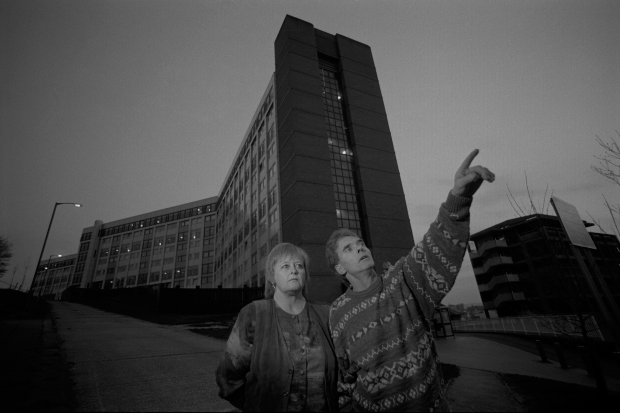 Aliens over Gleadless'. Story featured in Hardlines: Voices from Deep in a Recession (1998)