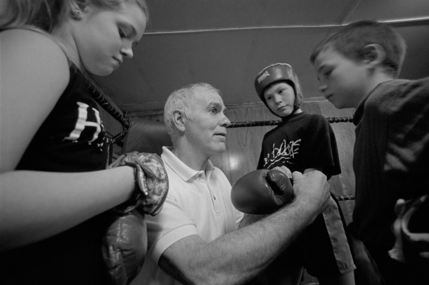 Brendan Ingle coaching
