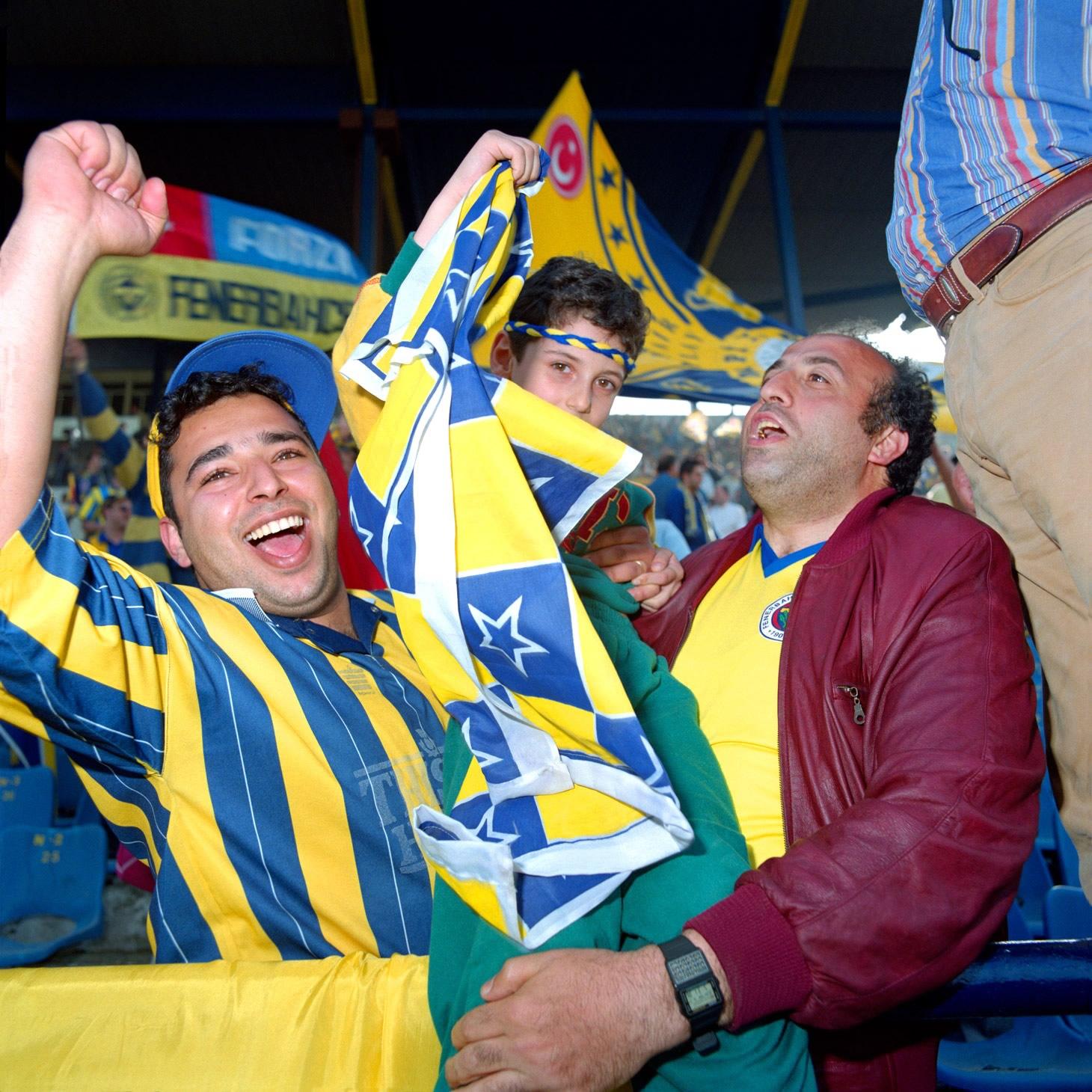 Fenerbahçe S.K. Turkish Süper Lig Champions 1996 F08