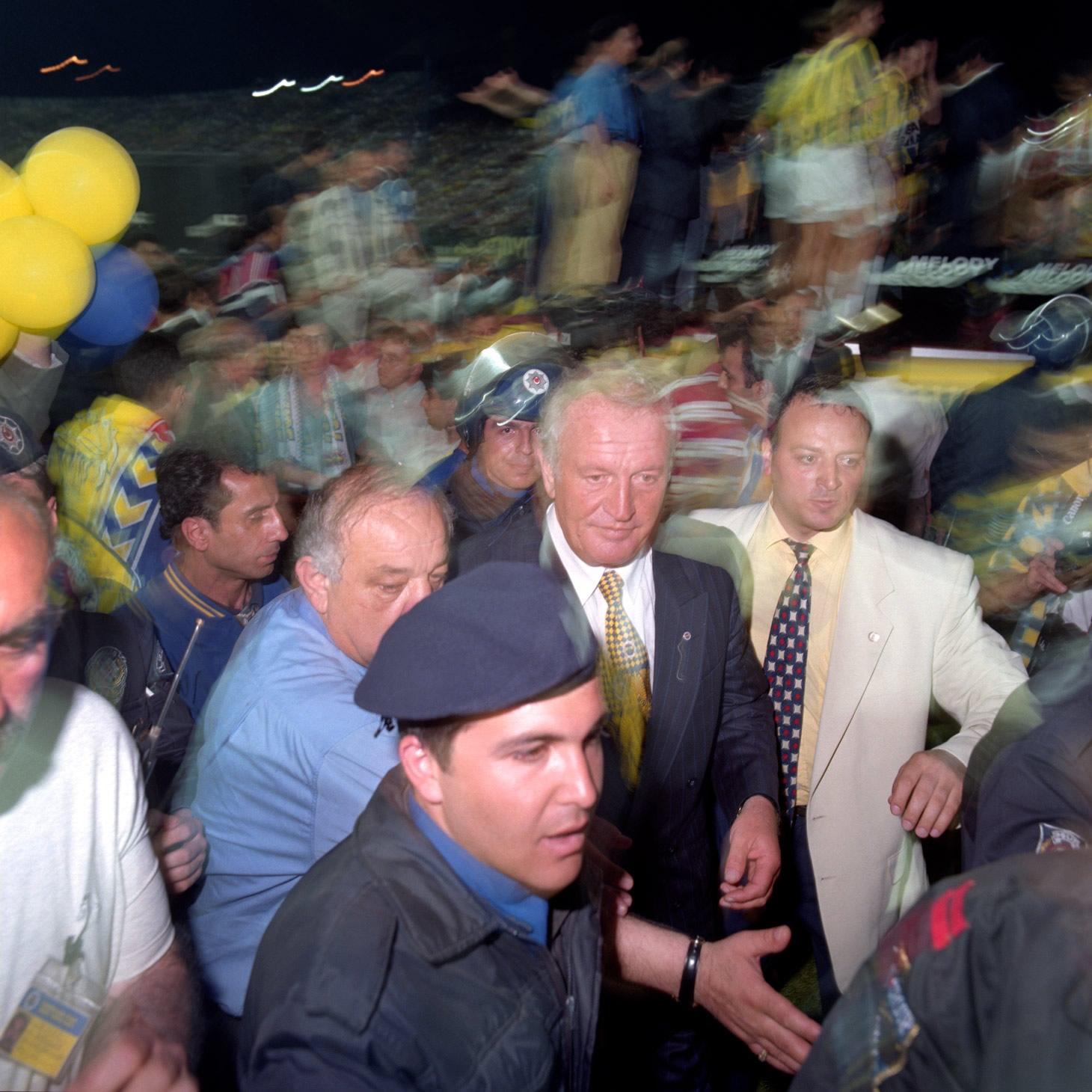 Fenerbahçe S.K. Turkish Süper Lig Champions 1996 F11