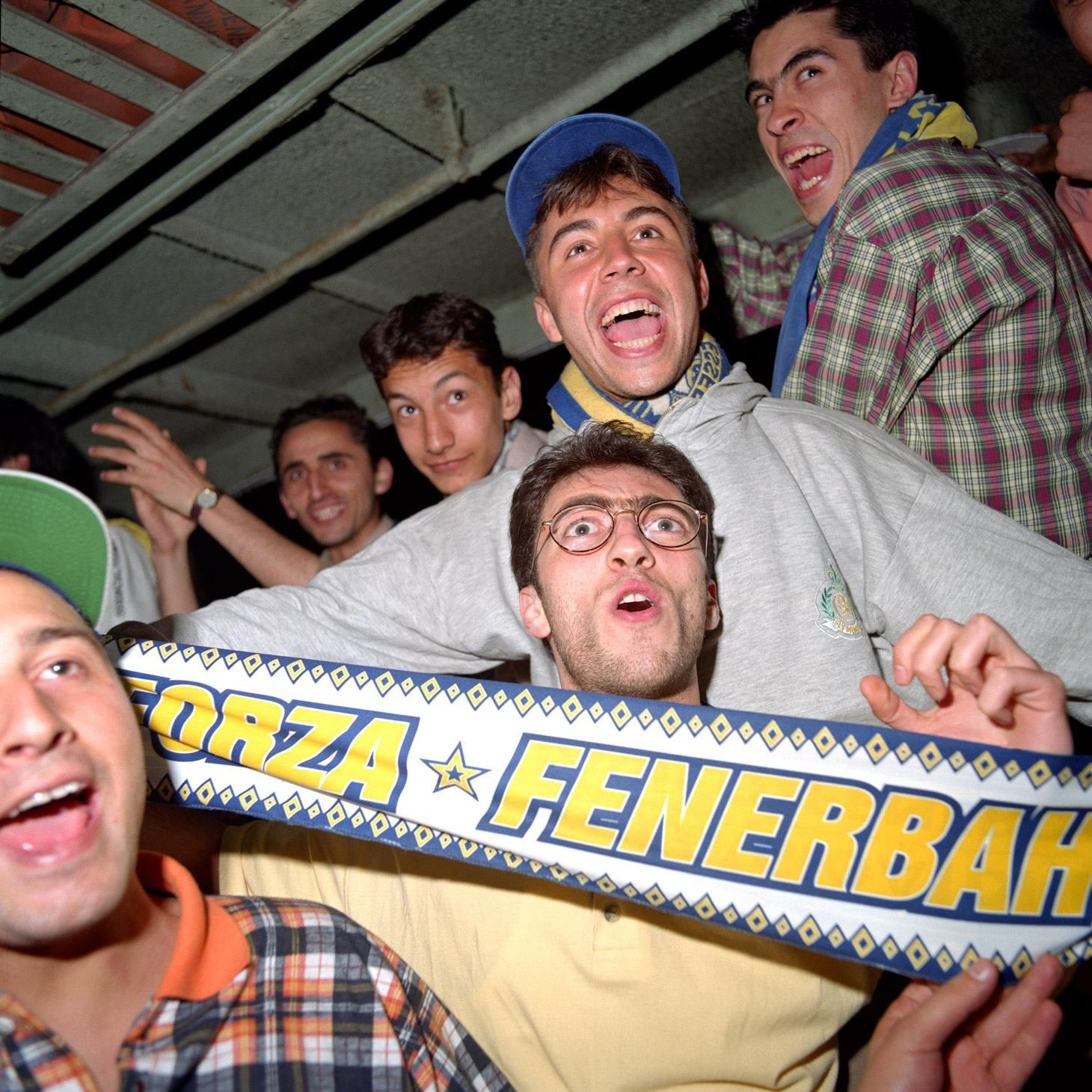 Fenerbahçe S.K. Turkish Süper Lig Champions 1996 F12
