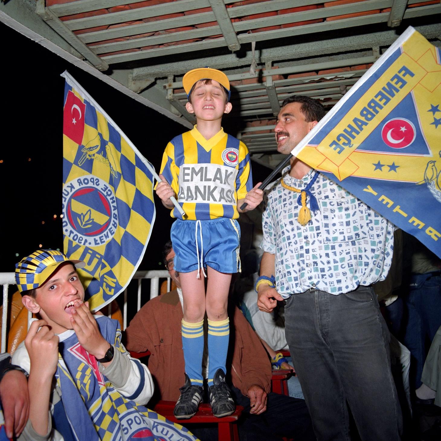 Fenerbahçe S.K. Turkish Süper Lig Champions 1996 F13
