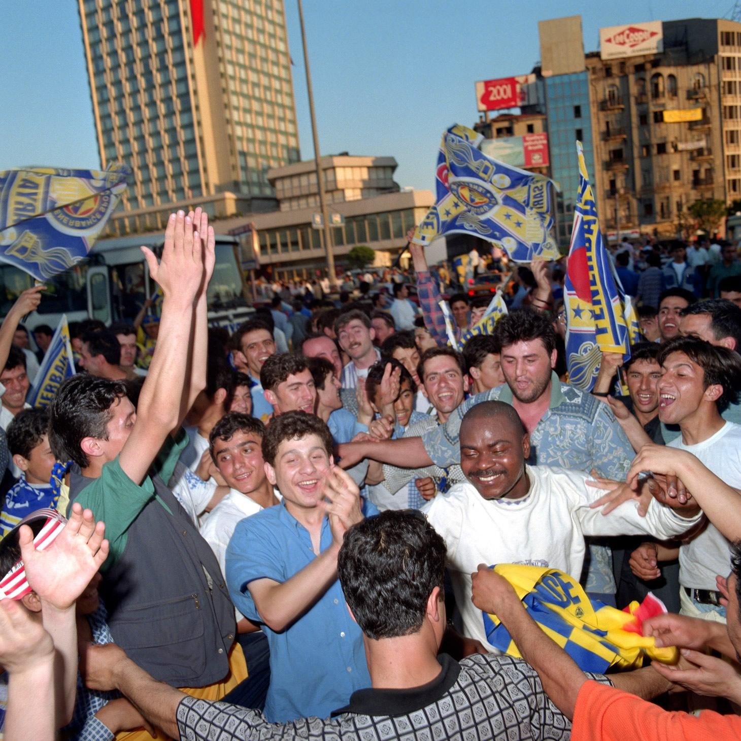 Fenerbahçe S.K. Turkish Süper Lig Champions 1996 F14