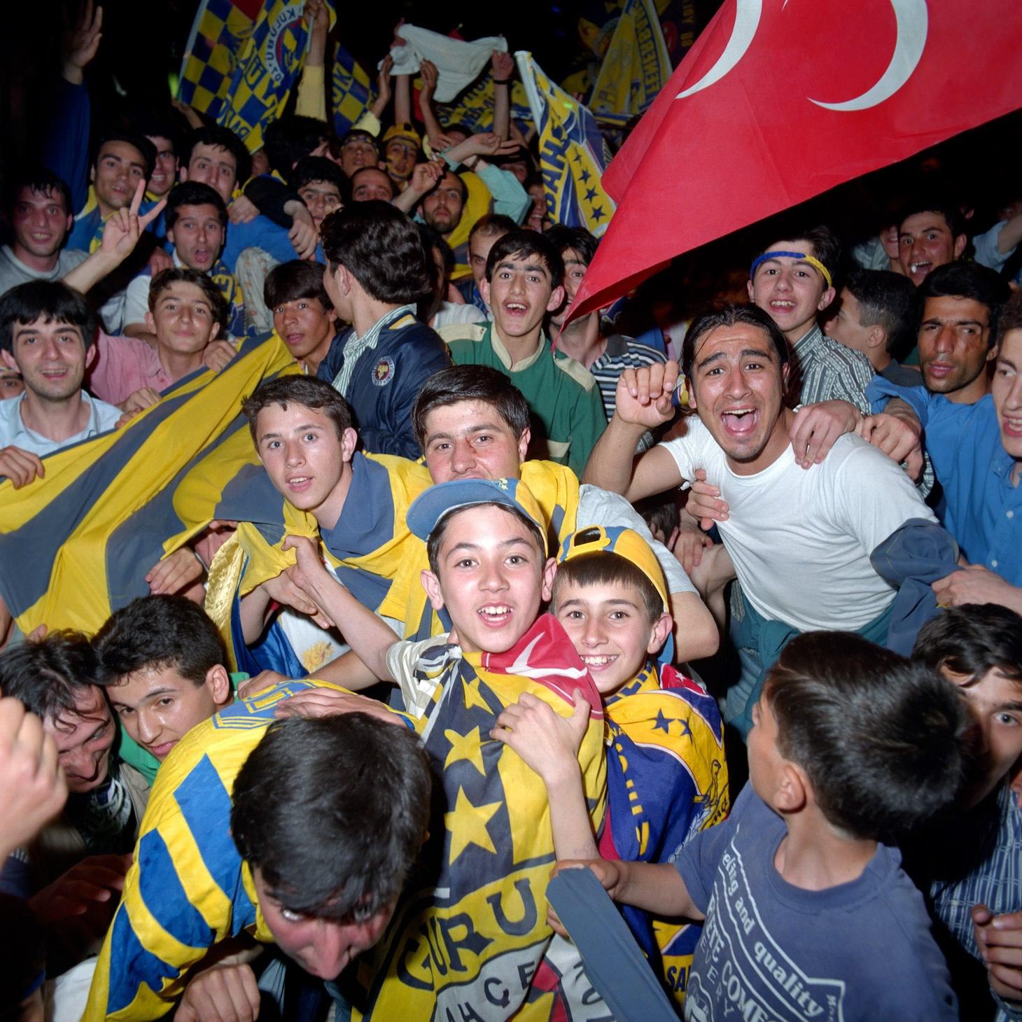 Fenerbahçe S.K. Turkish Süper Lig Champions 1996 F16