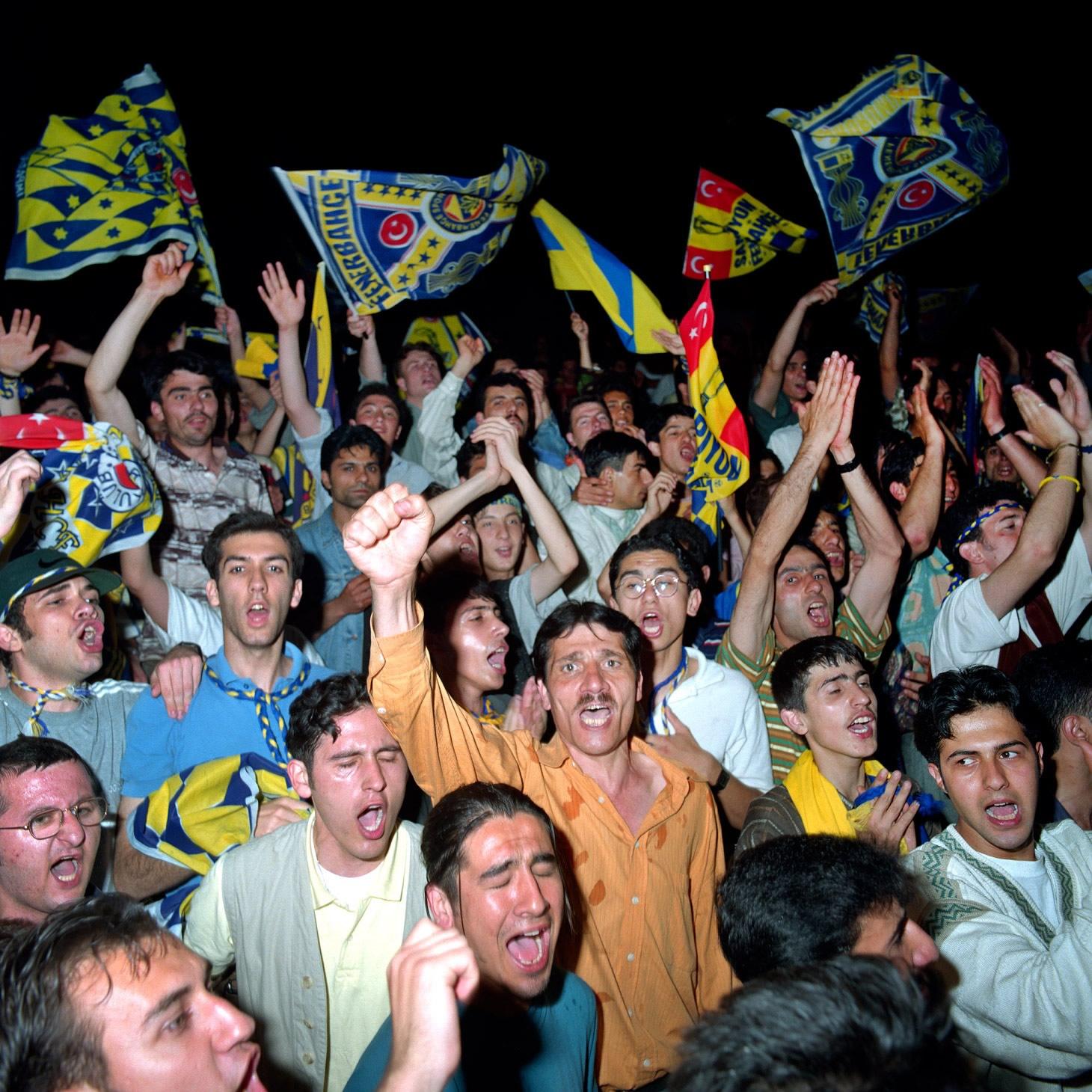 Fenerbahçe S.K. Turkish Süper Lig Champions 1996 F18