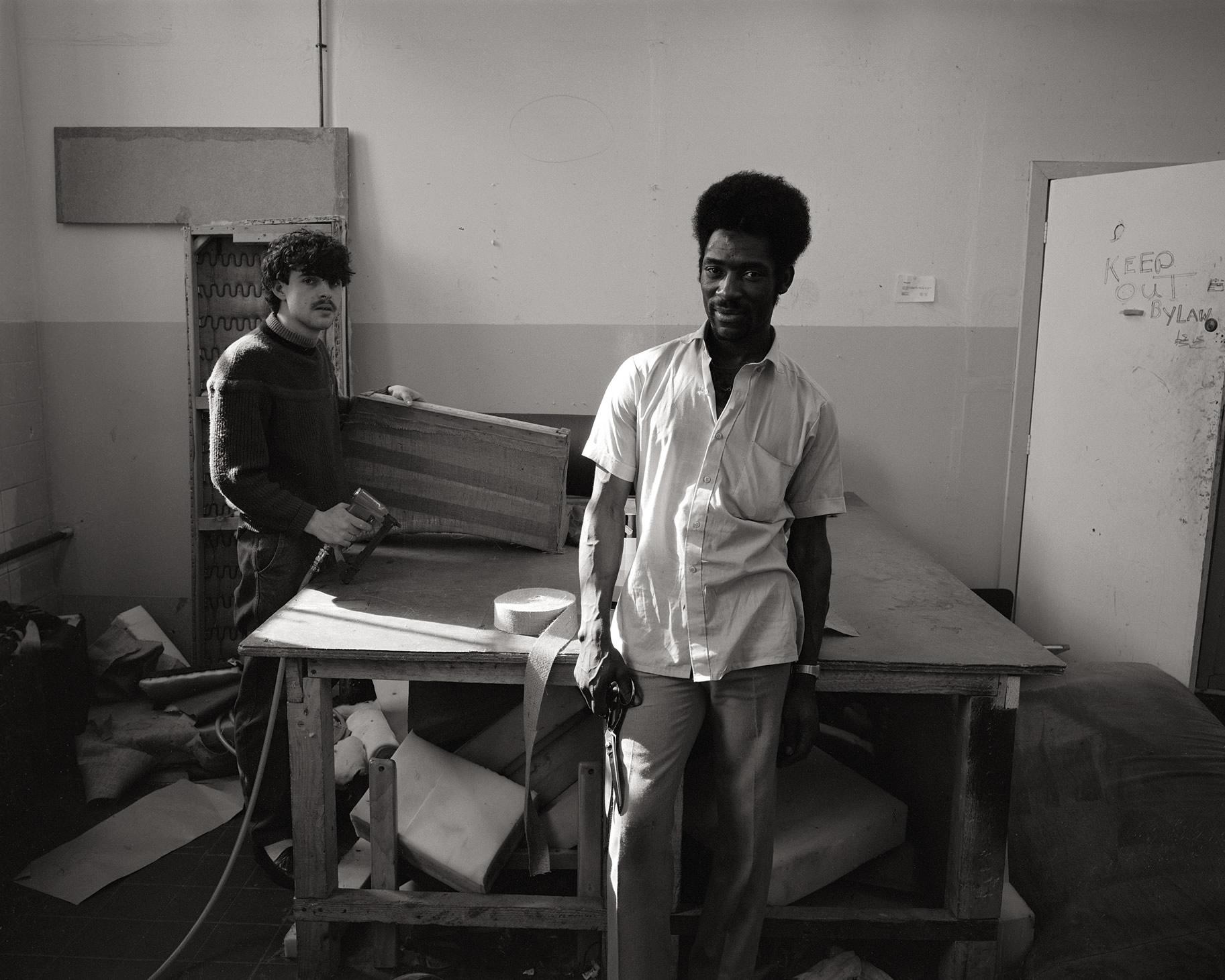 Artist in Industry Fellowship, Yorkshire Arts 1985